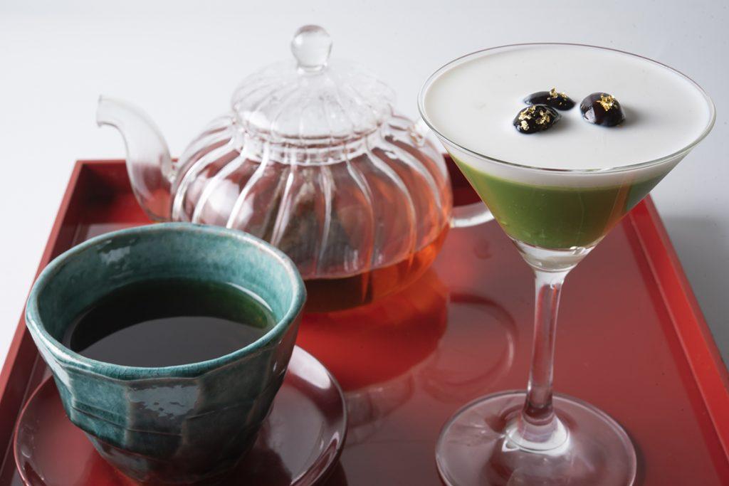 とろける大人の抹茶プリンと和紅茶のセット<一日限定10食>